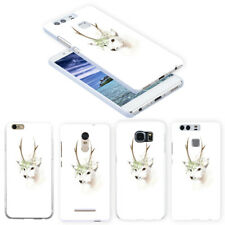 Deer Print Protect Case Cover for iPhone X (10) 8 Samsung Xiaomi Note 2 Flowery