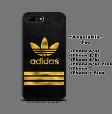Three Stripes Water Color Print Custom On Hard Plastic Case For iPhone 7 8 Plus
