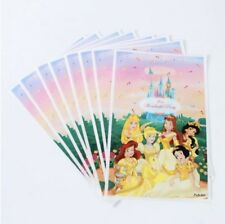 NEW Pack of 10 Girls Disney Princess Themed Party Loot Bag Lolly Bags #2
