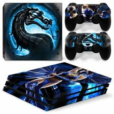 Dragon new arrival vinyl skin sticker for ps4 pro console and controller decal