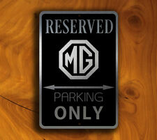 MG Parking Only Sign – MG Signs GARAGE SIGNS Mg Gift