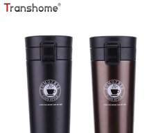 stainless steel thermocup coffee vacuum bottle mug  380ml Thermos Fashion travel