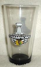 CHICAGO BLACKHAWKS 2015 STANLEY CUP Champions Champs PINT GLASS NEW