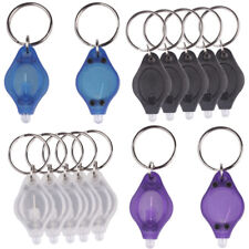 New Mini LED Micro Light Keychain Squeeze Key Ring Lamp Camping Outdoor