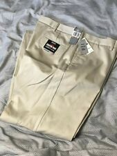 DOCKERS SIGNATURE KHAKI FLAT FRONT CLASSIC FIT CHINO PANTS NWT $58