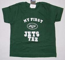 NWT Toddler Boys Girls My First New York Jets Tee Shirt Reebok 2T 3T 4T Kids NFL