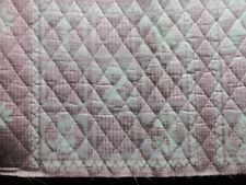 VINTAGE  PRE-QUILTED BABY PRINT DOUBLE FACE FROM THE 80S OR  SHEET FABRIC