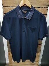 MEN'S BEN SHERMAN SHORT SLEEVE NAVY '0048282' POLO SHIRT ALL SIZES MED-4XL