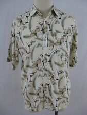 Hawaiian Shirt NWT Knightsbridge 100% Rayon Short Sleeve S M L XL