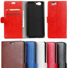 For Sony HTC Phones PU Leather Wallet Magnetic Flip Stand Card Slots Case Cover