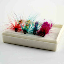 4 pcs fly fishing lure Artificial Insect bait trout hooks tackle flying baits