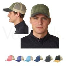 Adams Men's 6-Panel And Pigment-Dyed Front Panel And Ollie Cap, OL102