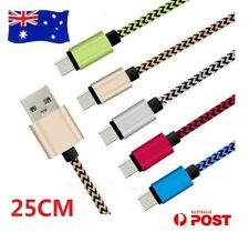 2X Short Braided USB Data Sync Power Charger Cable Cord For Apple iPad Air2 Pro