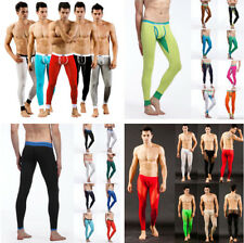 US Winter Men's Long Johns Pants Thermal Bottom Cotton Warm Leggings Underwear