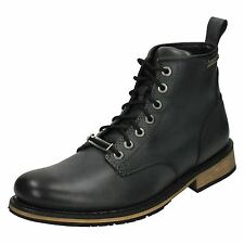 Harley Davidson 'Joshua' Mens Leather Lace Up Riding Appropriate Biker Boots