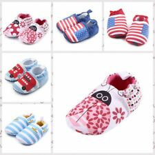 Cute Infant Toddler Sneakers Baby Boy Girl Soft Sole Crib Shoes Prewalkers 0-12M