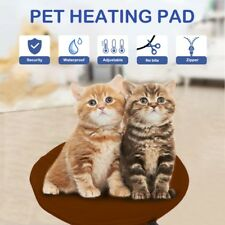 Waterproof Pet Electric Heating Mat Heated Pad Warmer Dog Cat Safe Blanket Bed