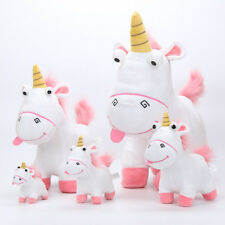 Large 45cm Despicable Me Fluffy Unicorn Soft Plush Doll Fluffy Toy Kids Gift