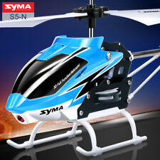 SYMA S5-N 3CH Mini RC Helicopter Built in Gyroscope Indoor Toy for Kids Red Blue