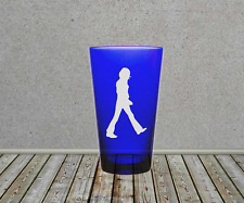 The Beatles Abbey Road Sandblasted Etched Pint Glasses