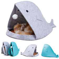 Pets Protable Cat Puppy Dog Beds Shark Shaped Warm Sleeping Bag Pet House Kennel