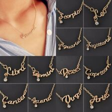 Women Fancy Romantic Crystal Constellation Clavicle Chain Necklace Fashion Gift