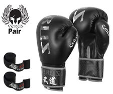 VERUS Boxing Gloves Fight Punch Bag Muay Thai Kickboxing MMA Sparring Mitts MMA