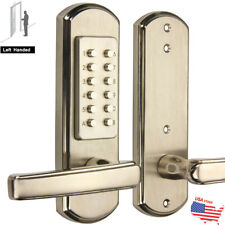 Double Sided Combination Keyless Mechanical Door Lock Security Full Size Right/L