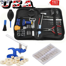 Watch Repair Tool Kit Remover Case Opener Spring Bar Back Pin Hand Band Set OUY