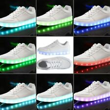 Unisex LED Lighting Light Up Shoes for Men Women USB Charging Casual Lace-up N5