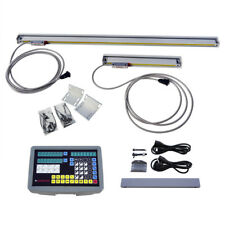 Digital readout for Milling Lathe DRO W/ Glass scales Complete kit & Accessories