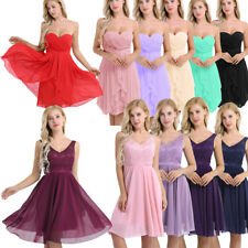 Women's Short Lace Dress Prom Gown Evening Homecoming Bridesmaid Party Cocktail