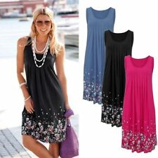 Summer Women Casual Sleeveless Evening Party Cocktail Dress Short Mini Dress NEW