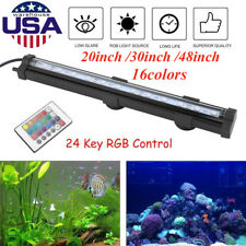 Remote Control LED Air Bubble Light Underwater Submersible Aquarium Fish Tank OY