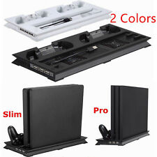 USB Cooling Tower Stand2 Dual Controller Charging Dock for Playstation 4Slim/pro