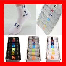 NEWEST Happy Socks 7 Pairs/pack 7 Days Of The Week Men's Women's Ankle Funny