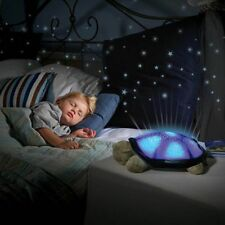 Creative Turtle Star Sky Projection Lamp Musical LED Night Light Baby Kids Sleep