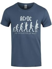 AC/DC EVOLUTION OF ROCK ACDC OFFICIAL BAND T-SHIRT