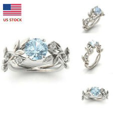 Size 6,7,8,9,10 Fashion Womens Diamonds Engagement Rings Party Wedding Gifts