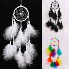 Indian Handmade Dream Catcher with Feathers Wall Hanging Ornament Craft Utility