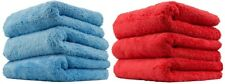 BBNMORE Edgeless Microfiber Towels 16x16 (6pack)
