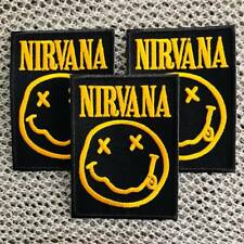 NIRVANA METAL MUSIC BAND LOGO EMBROIDERED IRON ON SEW PATCH HOT 3 Free 2