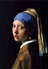 Classic Dutch Baroque Art Print: The Girl with the Pearl Earring by Vermeer