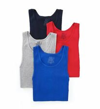 Fruit Of The Loom 4P2601C Men's Assorted Core Cotton A-Shirts - 4 Pack