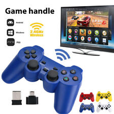 2.4GHz Wireless Dual Joystick Control Stick Game Controller For PS3 PC TV Box