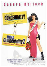 MISS CONGENIALITY DOUBLE FEATURE New DVD 1 + 2