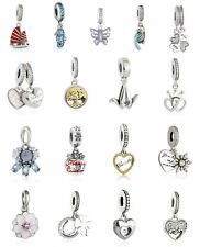authentic sterling silver Animal Pendant Charms Dangle Beads genuine charm Bead
