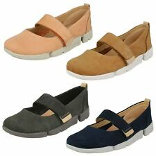Ladies Clarks Casual Flat Shoe 'Tri Carrie'