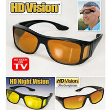 HD Vision Glasses Over Wrap Arounds Sunglasses Men Night Vision Driving Glasses