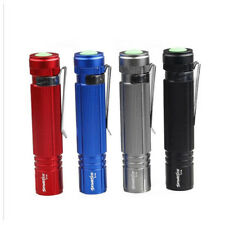 Mini 10000Lumens Protable Compact AA Battery Torch Lamp LED Flashlight Outdoor #